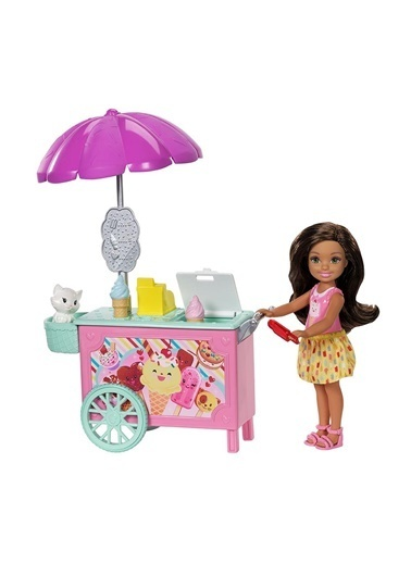 Barbie Barbie Chelsea Piknikte Oyun Setleri FDB32 Renkli